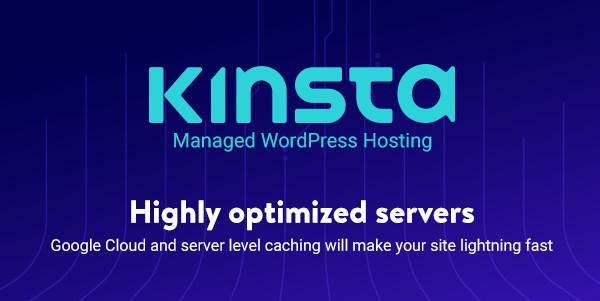 Kinsta Google Wordpress Cloud Hosting